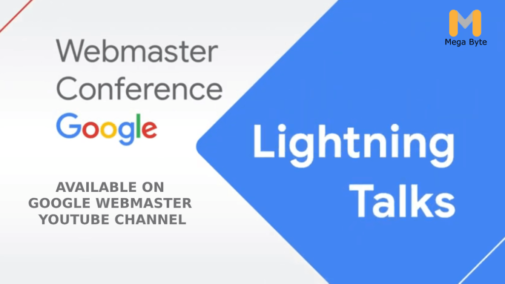Webmaster Conference Lightning Talks