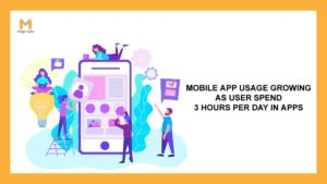Mobile app utilization growing as customers Spend three Hours Daily in Apps
