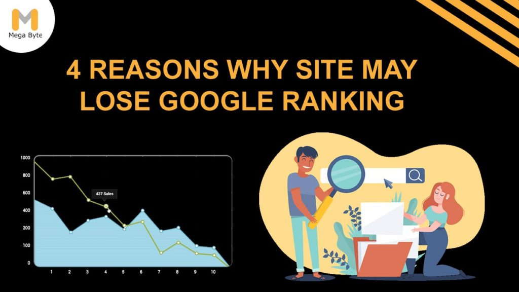 4 Reasons Why Sites May Lose Rankings on Google