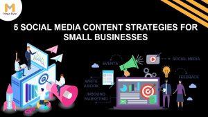 Social media content strategies