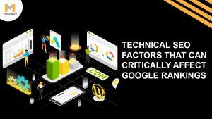Technical SEO factors